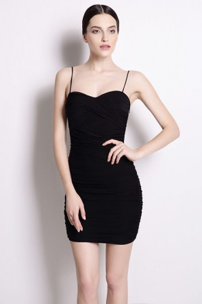 Sexy Mini Spaghetti Straps Party Dresses 5 Colors TCDMU0015