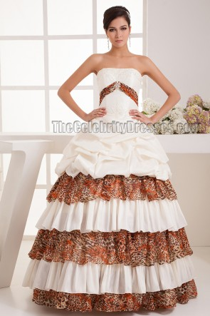 New Design Strapless Ball Gown Floor Length Wedding Dress