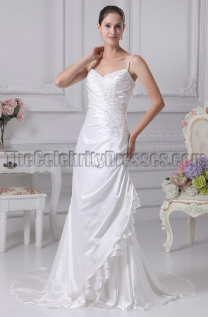 New Style Embroidery Bridal Gown Wedding Dress
