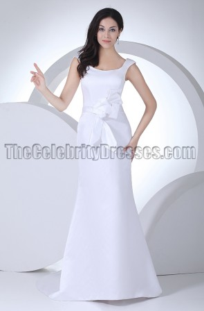 New Style Discount Simple Mermaid Wedding Dress