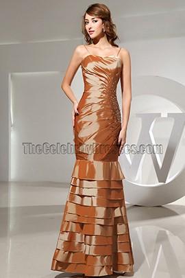Strapless Mermaid Formal Dress Prom Bridesmaid Dresses