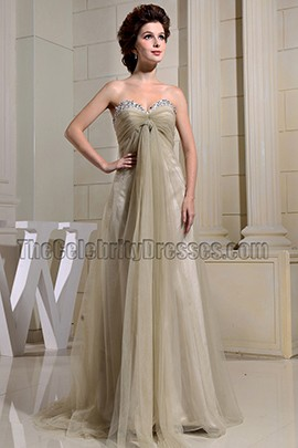 New Style Tulle Sweetheart Prom Gown Evening Dress