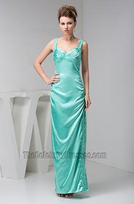 Sheath/Column Floor Length Prom Gown Evening Formal Dresses