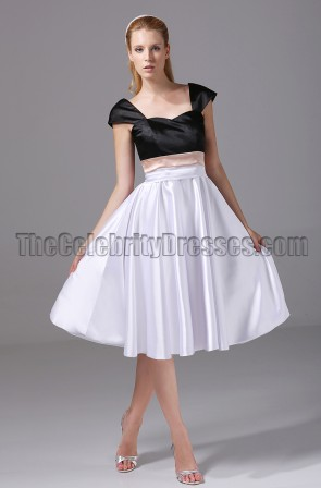 Discount Short Cap Sleeve Party Graduation Homecoming Dresses