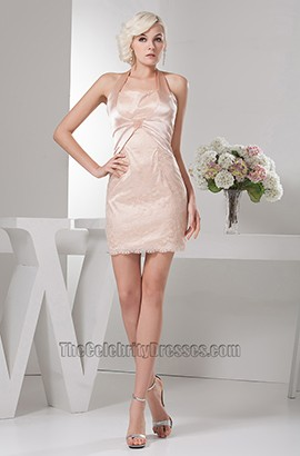 Chic Short/Mini Halter Party Cocktail Homecoming Dresses