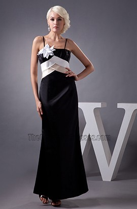 Spaghetti Straps Formal Gown Evening Prom Dresses