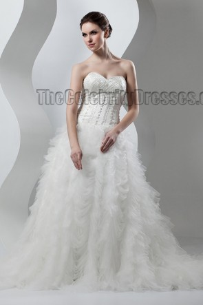 Stunning Strapless Sweetheart Beaded Wedding Dresses