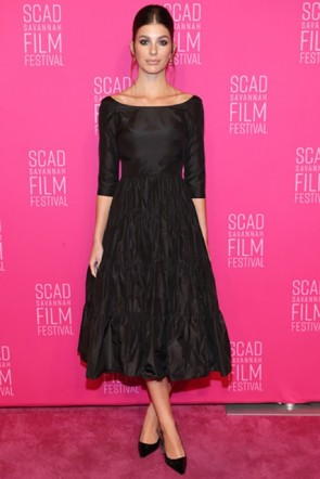 Camila Morrone Little Black Dress 2019 SCAD Film Festival