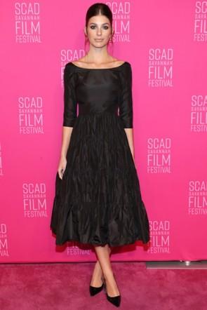Camila Morrone Little Black Dress 2019 SCAD Film Festival