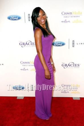 Cari Champion Long Evening Prom Gown 41st Annual Gracie Awards TCD7015