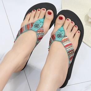 Casual Wedge Flip Flops
