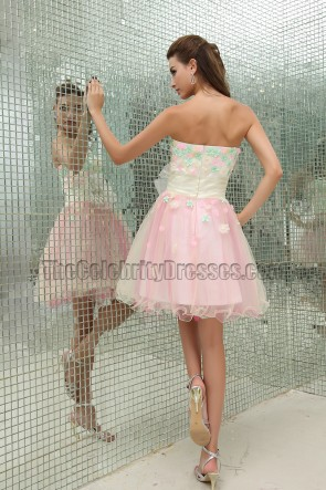 Celebrity Inspired A-Line Sweet 16 Party Homecoming Dress