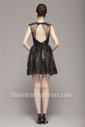 Celebrity Inspired Short Mini Little Black Party Dresses