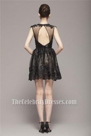 Celebrity Inspired Short Mini Little Black Party Dresses