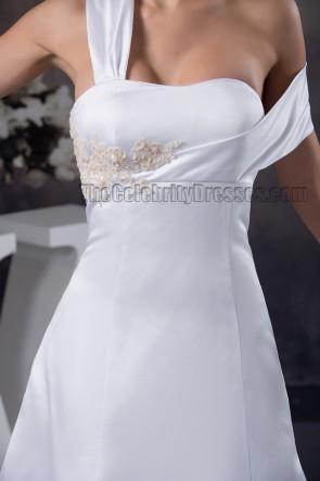 Chic Sweetheart A-Line Chapel Train Wedding Dresses