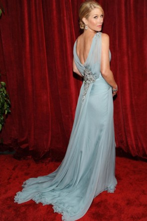 Christinia Applegate Prom Dress 2010 SAG Awards Red Carpet