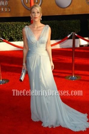 Christinia Applegate Prom Dress 2010 SAG Awards Red Carpet
