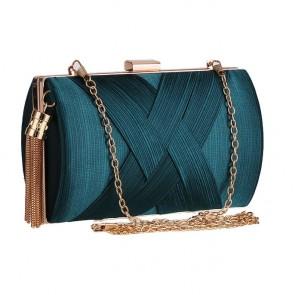Dark Green Fashion Handmade Evening Bag Paty Clutch