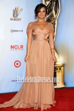 Demi Lovato Prom Evening Prom Dress 2011 ALMA Awards
