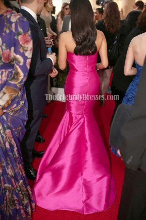 Diane Guerrero Fuchsia Formal Dress 22nd Screen Actors Guild Awards TCD6797