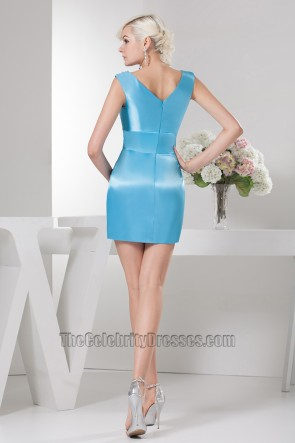 Discount Short Mini Blue Party Homecoming Dresses