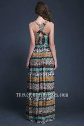Discount Floor Length Evening Gowns Maxi Dresses TCDBF032