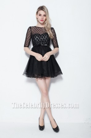 Discount Short Mini Little Black Party Dress