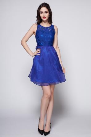 Discount Short Mini Royal Blue Party Homecoming Dresses