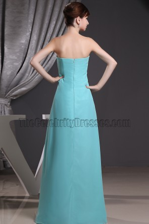 Discount Strapless Prom Dress Evening Formal Dresses