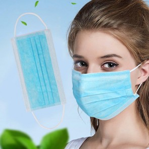 Disposable Anti-Dust Breathable 3-Layered Mask 10PCS
