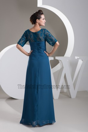 Elegant Square Neckline Formal Dress Evening Gown