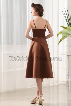 Elegant Sweetheart Bridesmaid Dress Cocktail Dresses