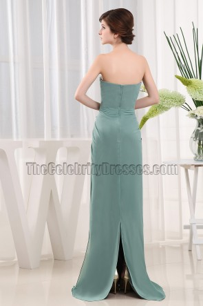 Elegant Green Sweetheart Evening Dress Formal Dresses