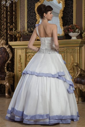 Floor Length Ball Gown One Shoulder Wedding Dresses