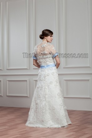 Floor Length Strapless Bridal Gown Wedding Dress With A Wrap