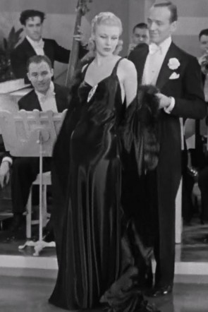 Ginger Rogers Black Evening Dress In Movie Roberta