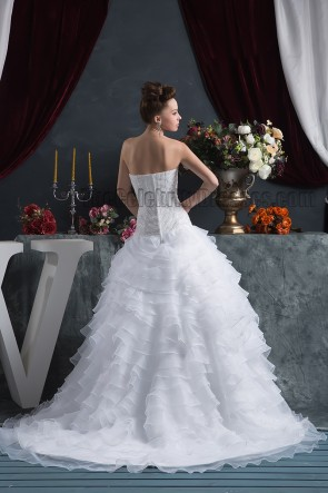 Gorgeous Beaded Strapless Sweetheart A-Line Wedding Dresses
