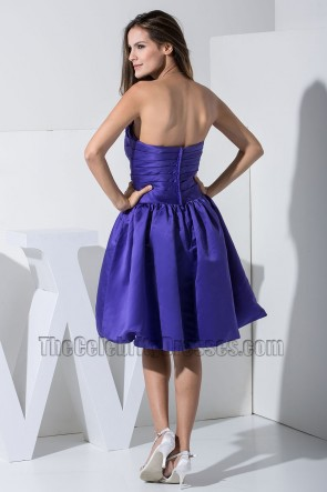 Gorgeous Regency Strapless A-Line Cocktail Dress Party Dresses