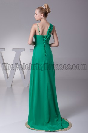 Hunter Chiffon A-Line Prom Bridesmaid Dresses