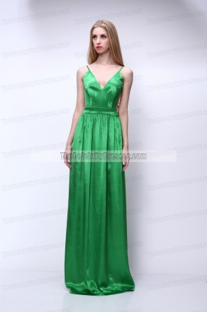Celebrity Inspired Backless Prom Gown Evening Dress