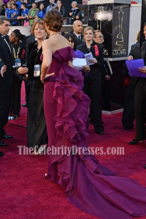 Jennifer Garner Purple Formal Dresses Oscars 2013 Red Carpet