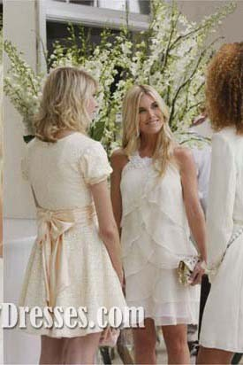 Jenny Short Bridesmaid Homecoming Celebrity Dresses Gossip Girl Season 1