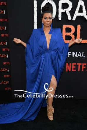 Jessica Pimentel Shoulder Pad Dress Premiere of 'Orange is the New Black'