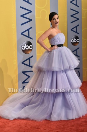 Kacey Musgraves  Lavender Princess Ball Gown 50th annual CMA Awards TCD6928