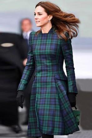 Kate Middleton 2021 Fashion Short Dress