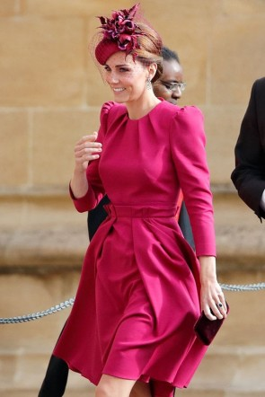 Kate Middleton Cocktail Dress With Sleeves
