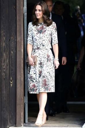 Kate Middleton Floral Summer Dress 2021
