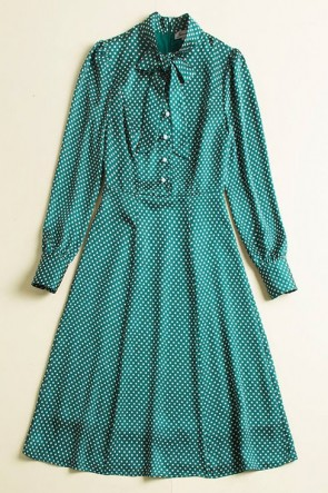 Kate Middleton Green Printed Casual Summer Dress With Sleeves 2019 TCDTB8415