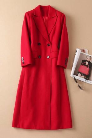 Kate Middleton Red Woolen Coat 2020