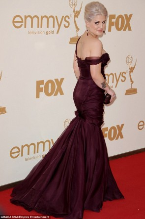 Celebrity Dresses Kelly Osbourne Formal Dress 63rd Primetime Emmy Awards Red Carpet